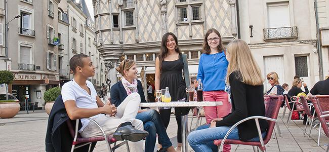 Etudiants internationaux ESSCA - Angers Spring Semester