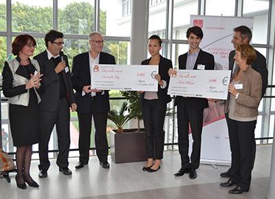 Le groupe AUCHAN soutient financièrement 2 étudiants de l'ESSCA