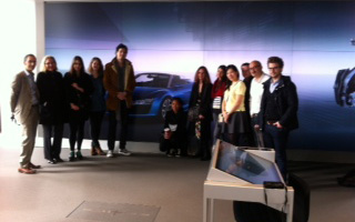 Visite du showroom digital Audi Londres