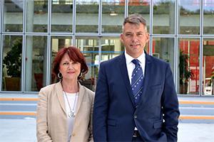 Catherine Sponchiado et Nicolas Gavelle, direction entreprises ESSCA