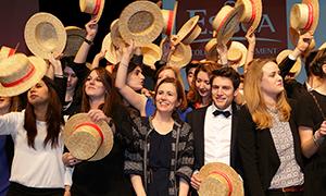 Cérémonie de remise des diplômes ESSCA 2015