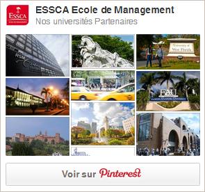 ESSCA Ecole de Management - Nos universités partenaires