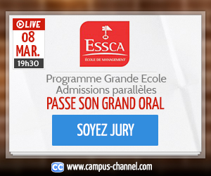 Programme Grande Ecole Admissions parallèles - Campus Chanel