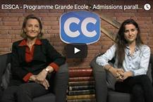 ESSCA - Programme Grande Ecole - Admissions parallèles