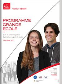 Plaquette Programme Grande École - ESSCA
