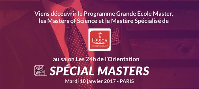 Salon Les 24h de l'Orientation spécial Masters