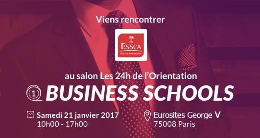 Salon les 24h de l'orientation business schools ESSCA