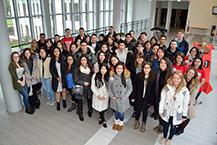 Les étudiants internationaux arrivent à l'ESSCA