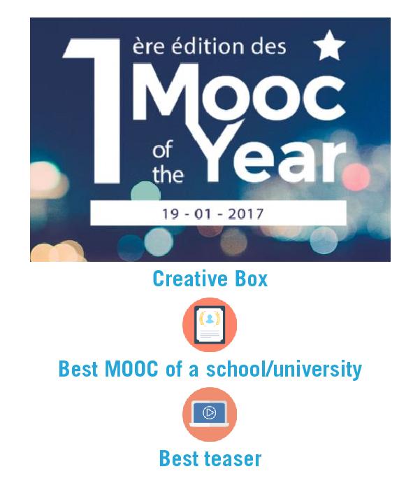 Best MOOC ESSCA of a Scholl/university, best Teaser