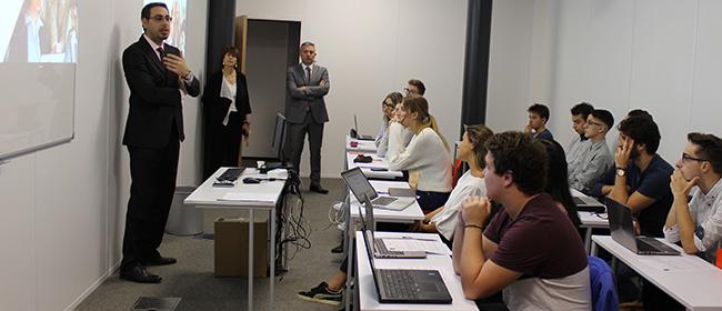 1re rentrée du Bachelor en Management Digital à Bordeaux