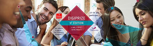 DIGIIPRIZE 5e edition - ESSCA