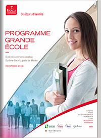Programme Grande Ecole ESSCA