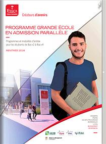 Programme Grande Ecole en admission parallèle